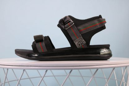 Nike Air Max 720 Sandal Black Grey Green-Red