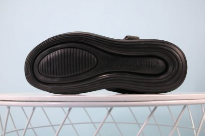 Nike Air Max 720 Sandal Black Grey Green-Red sole