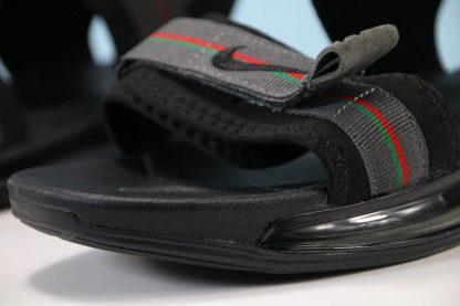 Nike Air Max 720 Sandal Black Grey Green-Red summer shoes