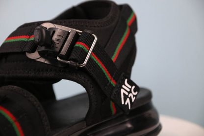 Shop Nike Air Max 720 Sandal Black Green-Red