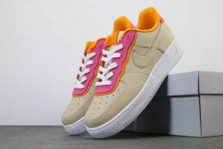 Womens Nike Air Force 1 07 SE Shoe Desert Ore