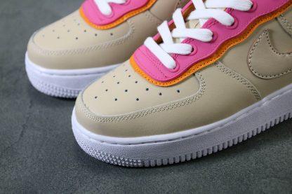 Womens Nike Air Force 1 07 SE Shoe Desert Ore Toe