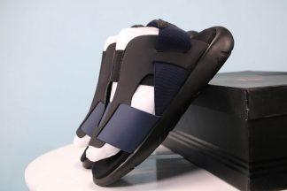 Y-3 Yohji Yamamoto X Adidas slide Sandal Black Blue