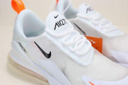 Nike Air Max 270 Summer White Total Orange small swoosh