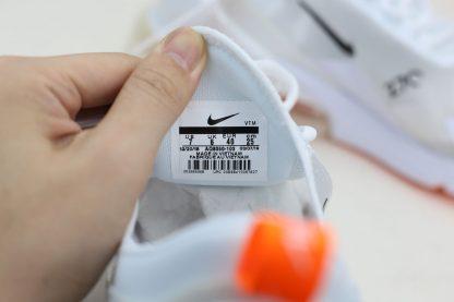 Nike Air Max 270 Summer White Total Orange tag