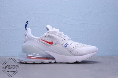 Nike Air Max 270 White Royal Red CD7338 100
