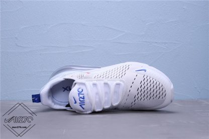 Nike Air Max 270 White Royal Red sneaker