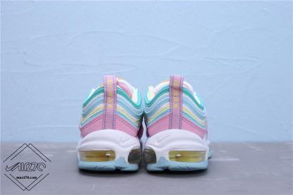 Smile Face New Version Nike Air Max 97 Pink back