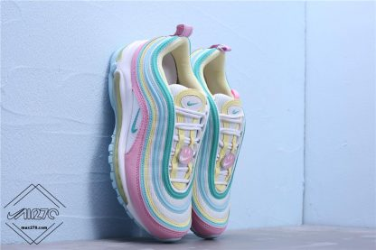 Smile Face New Version Nike Air Max 97 Pink shoes