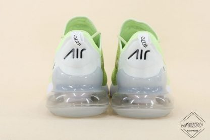 Air Max 270 Flyknit Barely Volt casual shoe heel