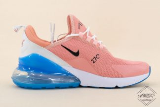 Nike Air Max 270 Flyknit Coral StardustRoyal Blue