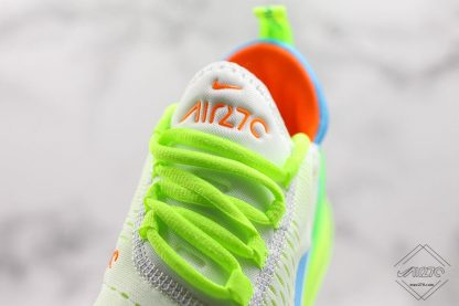 Nike Air Max 270 Neon Casual Sneakers shoelace