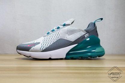 Nike Air Max 270 Wolf Grey Dark Grey Jade shoes