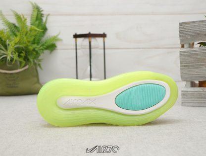 Nike Air Max 720 Volt Bordeaux Volt Glow Black sole