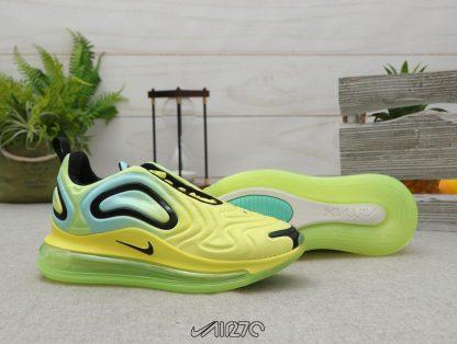 Nike Air Max 720 Volt Bordeaux Volt Glow Black trainer