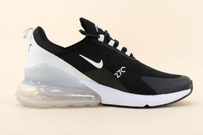 mens Nike Air Max 270 Mesh Black White