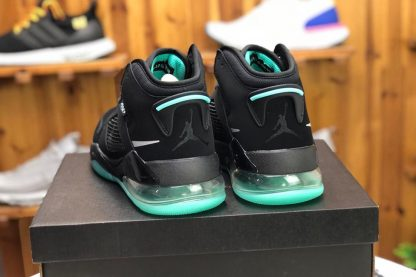 Jordan Mars 270 Green Glow In The Dark heel