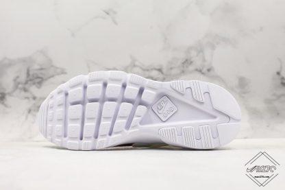 Nike Air Huarache 4 Run Suede Grey Pink-White sole