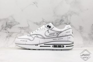 Nike Air Max 1 Sketch To Shelf Tinker White Schematic