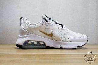 Nike Air Max 200 White Metal Gold