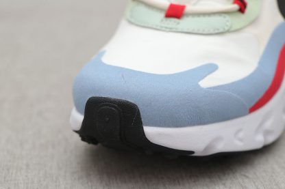 Nike Air Max 270 React Bauhaus light blue toe