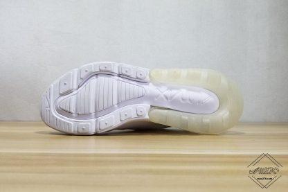 Nike Air Max 270 Triple White sole
