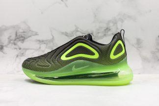 Nike Air Max 720 Neon Black Bright Green