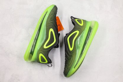 Nike Air Max 720 Neon Black Bright Green shoes