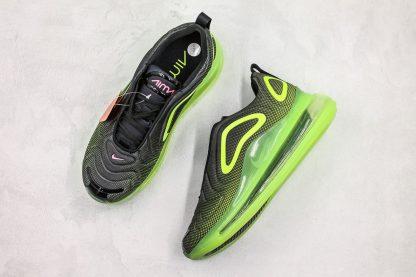 Nike Air Max 720 Neon Black Bright Green sneaker