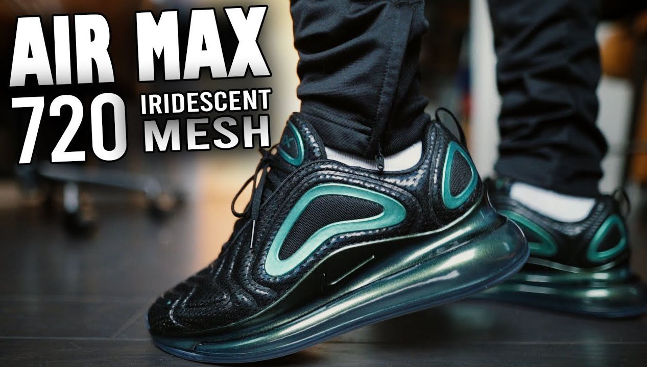 Nike Air Max 720 Throwback Future on feet