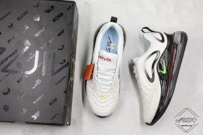 Nike Air Max 720 White Volt-Black sneaker