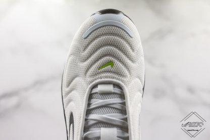 Nike Air Max 720 White Volt-Black toe