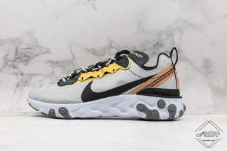 Nike React Element 55 Gold Ranger
