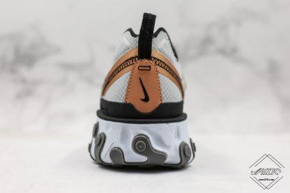Nike React Element 55 Gold Ranger heel