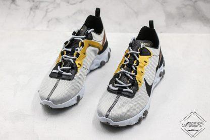 Nike React Element 55 Gold Ranger sneaker