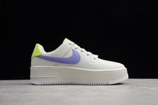 W Nike Air Force 1 Sage Low Sail Medium Violet