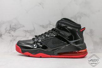 Air Jordan Mars 270 Black Patent Leather Red