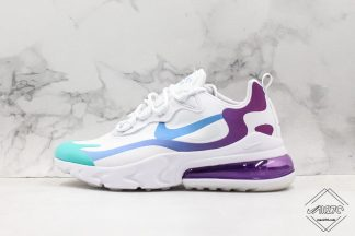 Air Max 270 React Korean Nike white purple