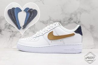 Nike Air Force 1 07 LV8 3 White Vachetta Tan