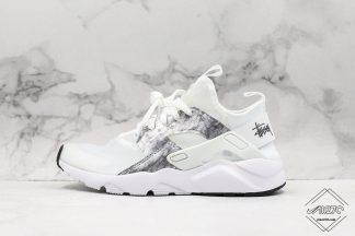 Nike Air Huarache Ultra Suede White Silver