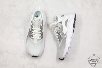 Nike Air Huarache Ultra Suede White Silver shoes