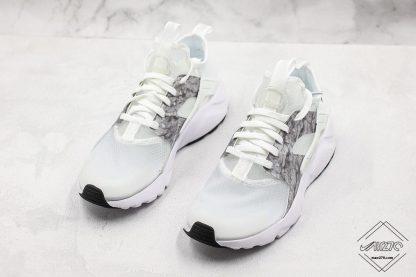 Nike Air Huarache Ultra Suede White Silver trainer