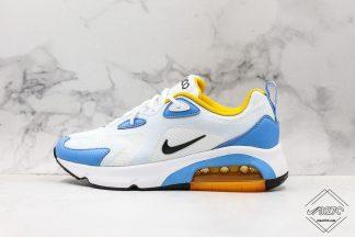 Nike Air Max 200 White Half Blue Sneaker