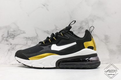 Nike Air Max 270 React Black Gold