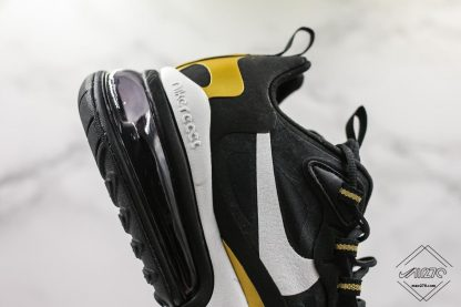 Nike Air Max 270 React Black Gold outsole