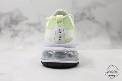Nike Air Max 270 React In My Feels Green heel