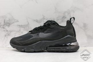 Nike Air Max React 270 Triple Black