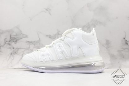 Nike Air More Uptempo 720 All White