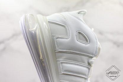 Nike Air More Uptempo 720 All White air unit