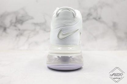 Nike Air More Uptempo 720 All White heel